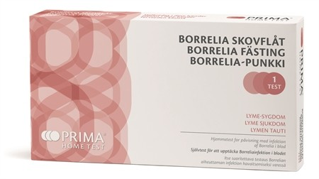 Borreliatest. Hjemmetest for flåttbitt.