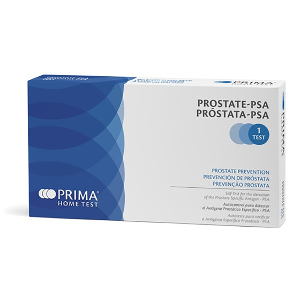 Prostatatest. Test deg hjemme for prostata PSA